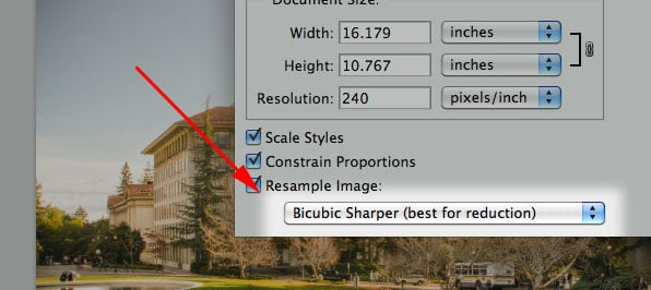 Use Bicubic Sharper for Web Resizing bicubicsharper