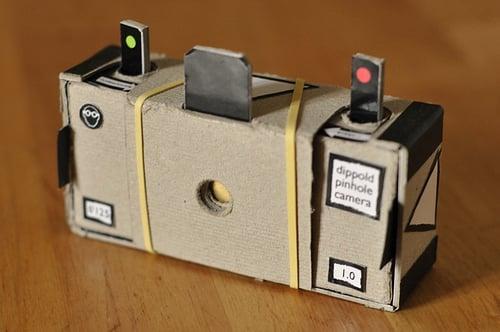 Print A Cardboard 35mm Pinhole Camera