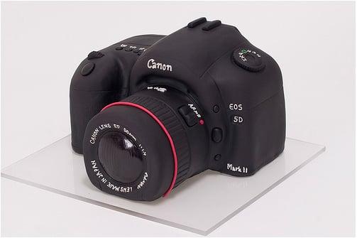 Sweet Canon 5d Mark Ii Cake