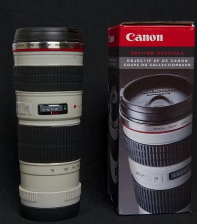Canon L Lens LookAlike Coffee Mug - Nikon coffee cup lens
