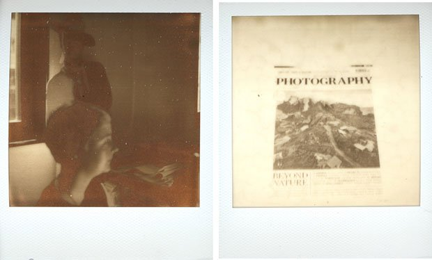 Test Shots with New Polaroid Instant Film impossibletests