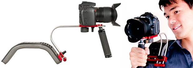 Wallet Friendly Video DSLR Shoulder Rig camerabrace