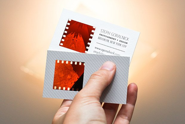 How to make your own photographic negative business cards about reheart Image collections