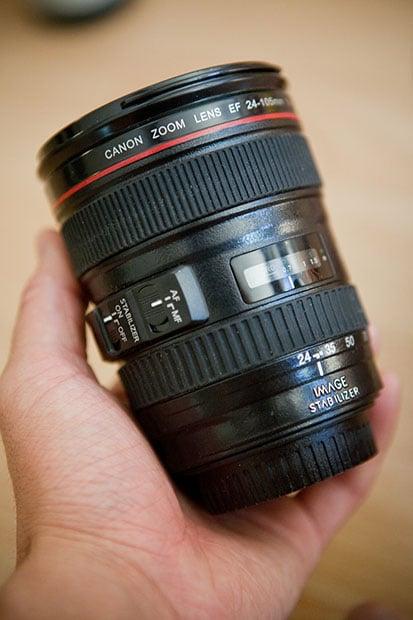 The 24 105mm Mug ...
