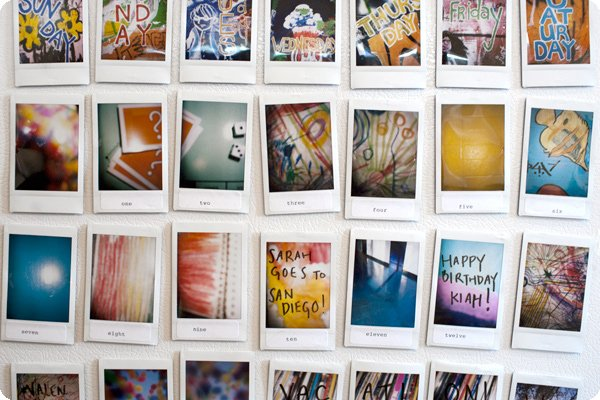 Put Instant Photos To Creative Practical Use