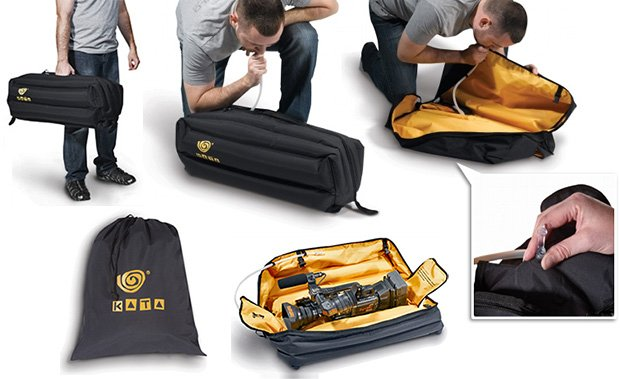 Neat Inflatable Bag for Safely Moving Gear from Place to Place inflatablebag