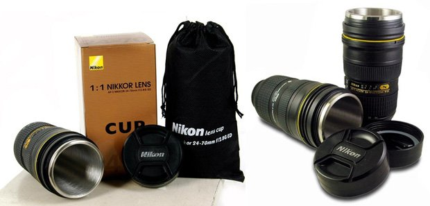 Nikon Mm Lens LookAlike Coffee Mug Finally Appears - Nikon coffee cup lens