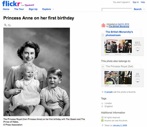 British Royal Family Has a Flickr Account royalflickr