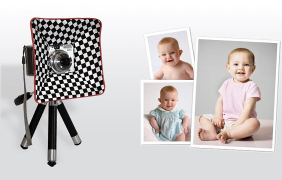 ShutterBuddy is like a Tractor Beam for Baby Eyes shutterbuddy