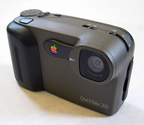 Apple Dipped Its Toes in Digital Cameras quicktake