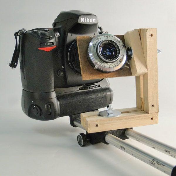 Nikon D700 With A Custom Tilt Shift Rig
