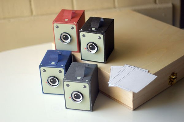 image about Camera Printable identified as Printable Typical Box Digital camera Papercraft