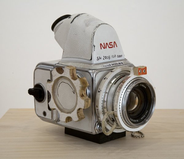 Handmade Model of a NASA Hasselblad nasahassy