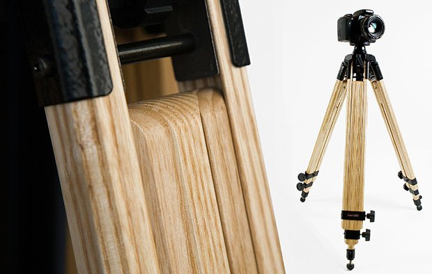 Wooden Tripod For Photographers Who Want Both Style And