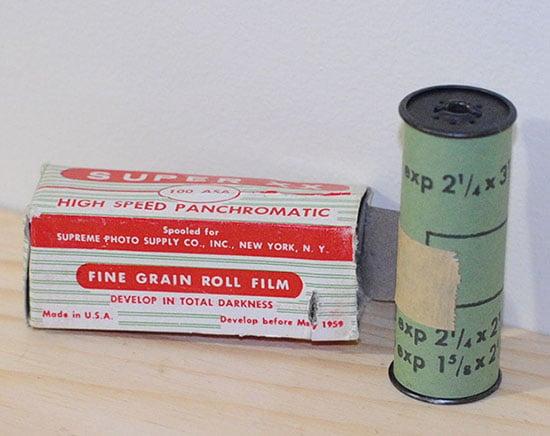 Съемка на фотоплёнку с истёкшим сроком годности в 1959 году