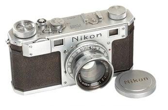 Самая первая фотокамера Nikon выставлена на аукцион! Новости в фото блоге Lion Arts Раменское!