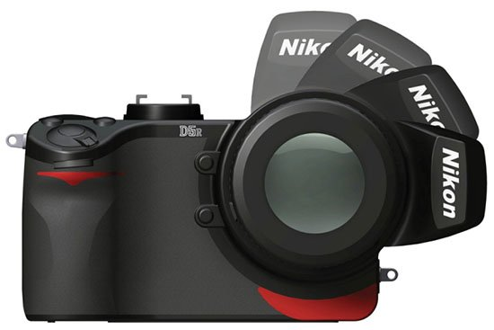Nikon D5R Concept Camera Features Rotating Sensor and Viewfinder nikond5r