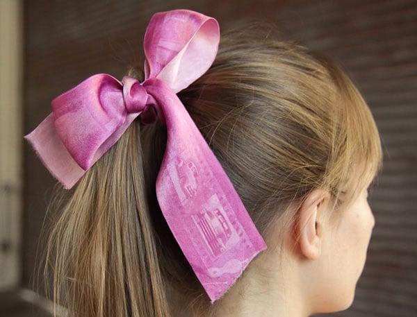 Print Your Photos Onto A Hair Ribbon
