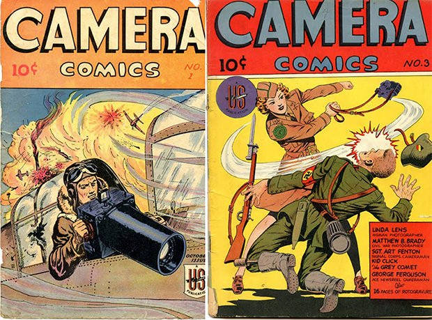 Camera Comics: Awesome Comic Books from the 1940s cac1 mini