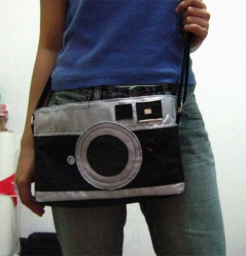 DIY Leica Rangefinder Camera Bag