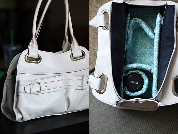 Make a Padded Insert to Turn Any Bag into a Camera Bag paddedinsert mini