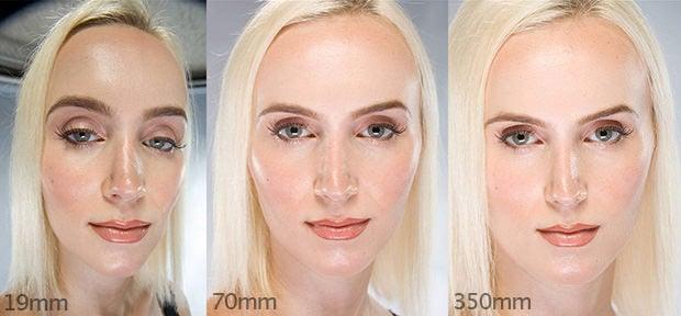 A Striking Look At How Focal Length Affect Head Shots