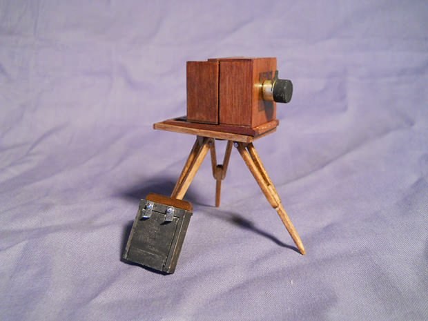 The Worlds Smallest Wet Plate Camera wetplate mini