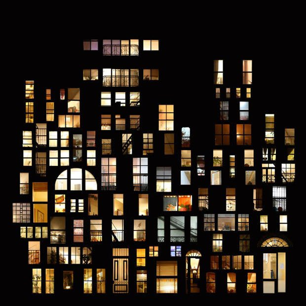 Living Pictures: Photo Collages of Windows Spotted Around