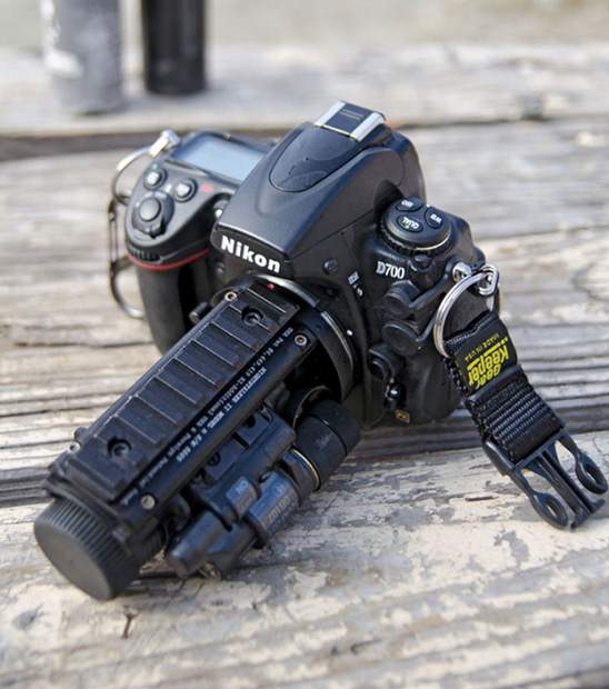 A Night Vision Lens Used By Us Military Photographers