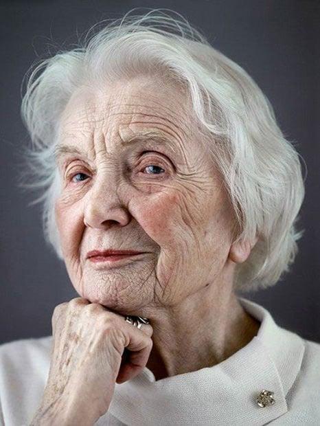 shot portraits of elderly Elderly Woman Portrait