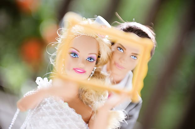 Wedding Photographs Featuring Barbie and Ken barbie2 mini
