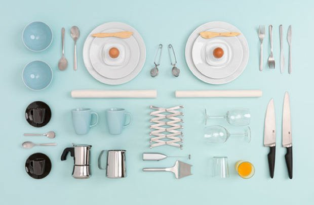Beautiful Photos of IKEA Kitchen Items Neatly Arranged