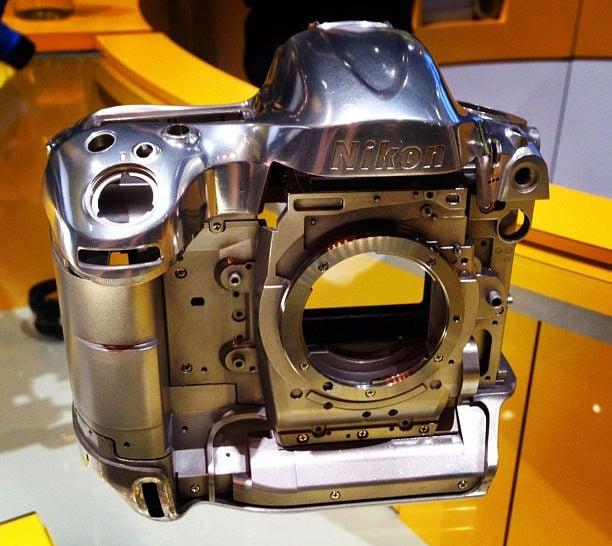 The Nikon D4 S Magnesium Alloy Frame