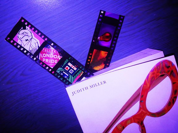 Make Personalized Bookmarks Using 35mm Film Strips bookmark mini