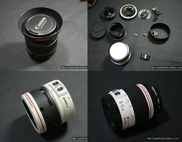 Camera Lenses with Custom Paint Jobs custom1 mini