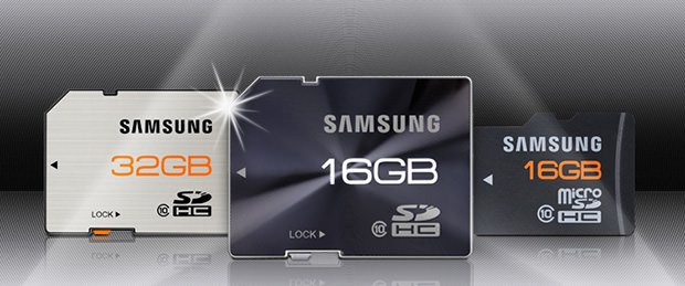 Samsungs New SD Cards Are as Sleek as They Are Sturdy samsung mini