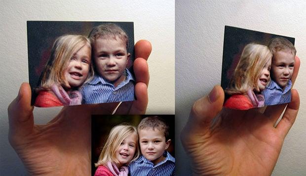 Как сделать фото объемным