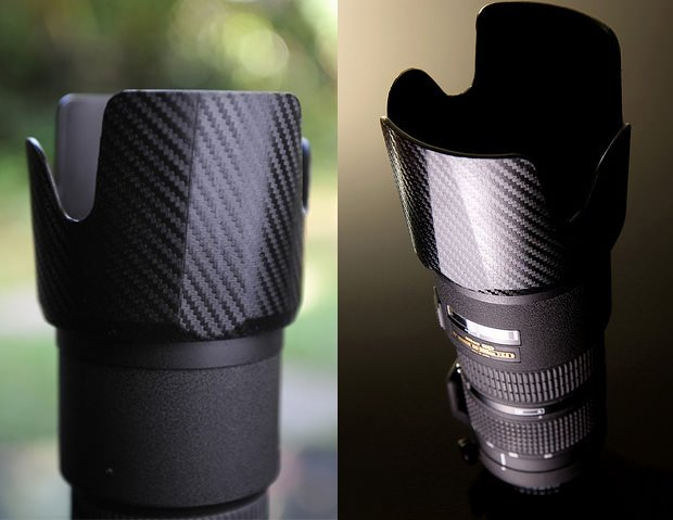 Protect And Dress Up Your Camera Gear With Carbon Fiber