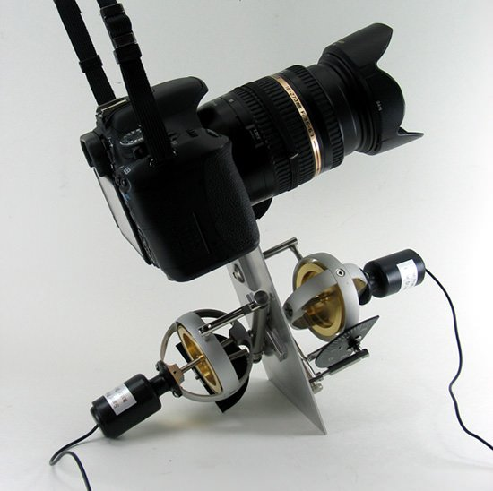 DIY Gyroscopic Camera Stabilizer Made On the Cheap gryo mini