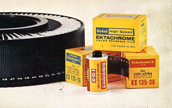 Kodak Kills Off Its Color Reversal Films kodakslide mini