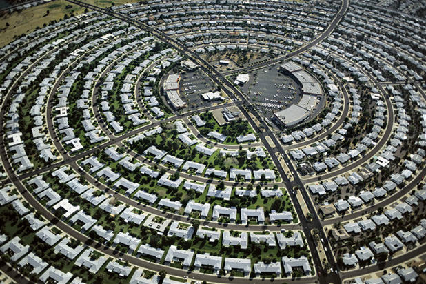 Sun City West Az >> Aerial Photographs Showing Patterns and Repetition