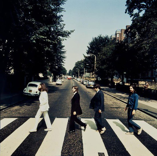 Wrong Way Beatles Abbey Road Photo to be Auctioned abbey mini
