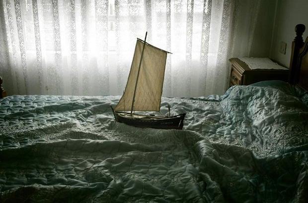 Ships Sailing Across Seas Of Sheets