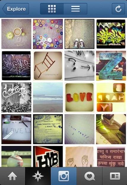 974631e5e1e07 Instagram Update Scraps Popularity for Explore Tab