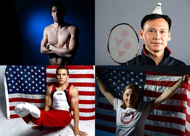 Bad Olympic Portraits Rewarded with an Exhibition in NYC bad mini