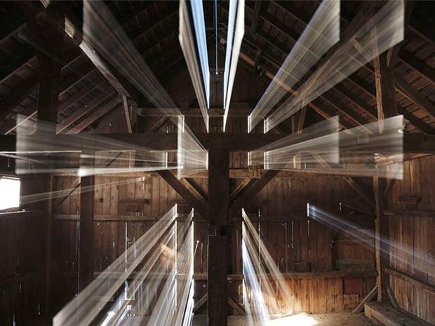 Abstract Photos Of Light Streaming Through A Barn Door