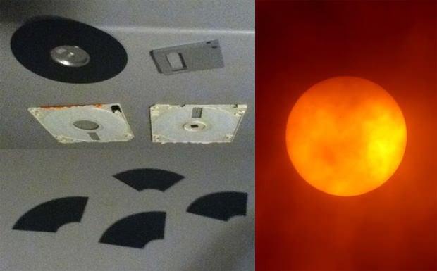 Make A Quick Diy Sun Filter Using A Floppy Disk