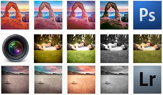 Instagram Photoshop Aperture Lightroom