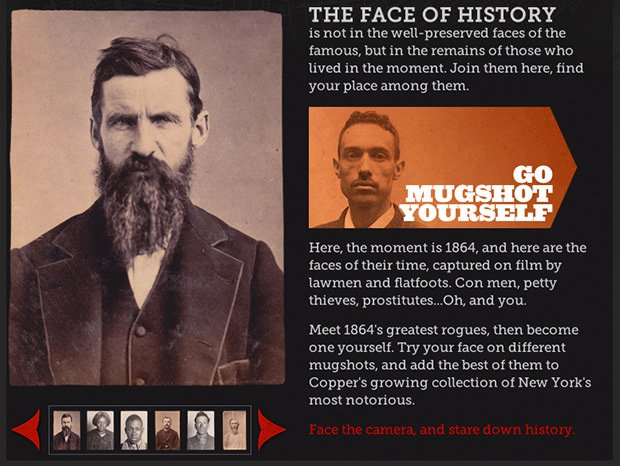 Mugshot Yourself Turns Your Portrait into a 19th Century Mugshot face mini1