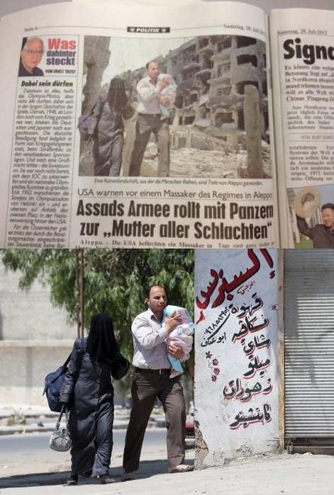 Photoshopped photo in Austrian newspaper Krone